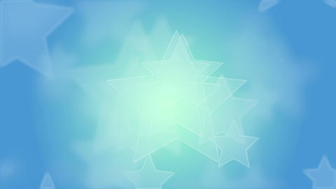 Blue Stars Background Animation