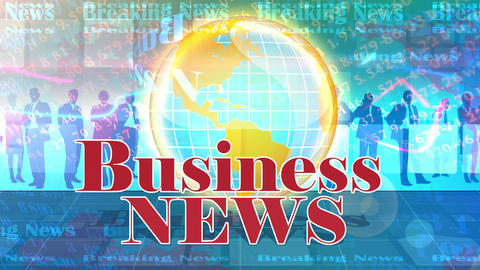 Business News Animation
