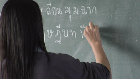 Chalk Board stock footage