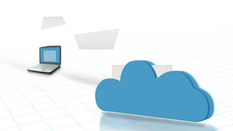 Cloud Computing Animation Animation