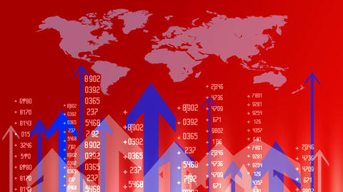 Currency Background Red Animation