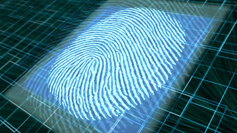 Finger Print Security Scan Animation