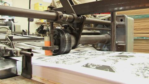 Folding Machine 2 Footage