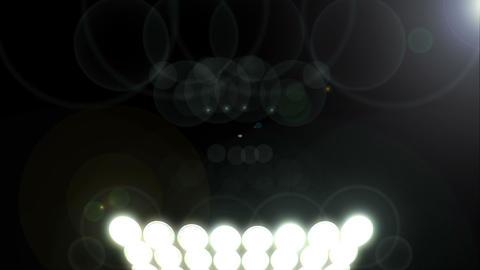 Hot Lights Loop Animation