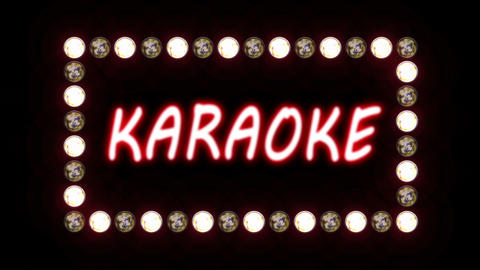 Karaoke Sign Animation