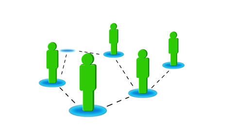 Networking Green Animation