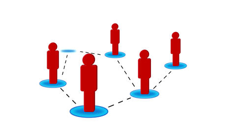 Networking Red Animation