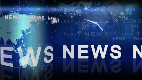 News Time Animation