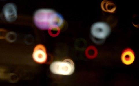 Night Lights Footage