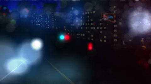Police Check Point Animation