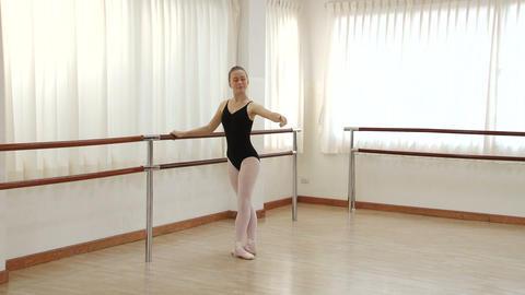 Practicing Ballet Footage