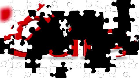 Sale Puzzle Animation