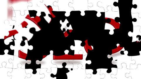 SEO Puzzle Animation