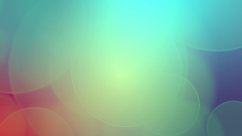 Soft Circles Background stock footage