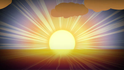 Sunny Day stock footage