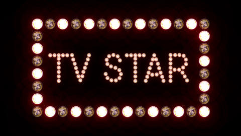 TV Star Sign Animation