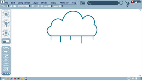 Whiteboard Cloud Concept Animation
