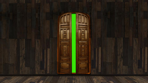 Wooden Door Animation