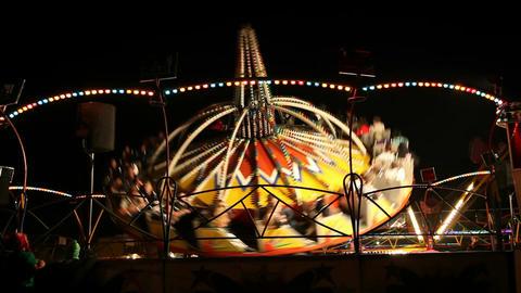 Amusement park ride Footage