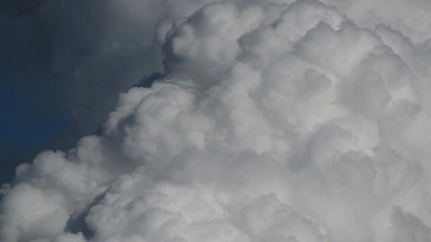 Cumulus Monsoon Clouds Explode Time Lapse 11268 stock footage