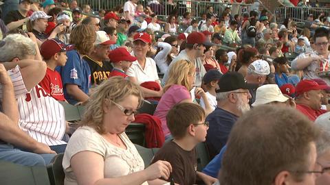 Baseball fans 5 Footage