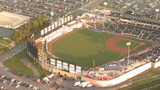 Baseball Field Aerial 5 Footage