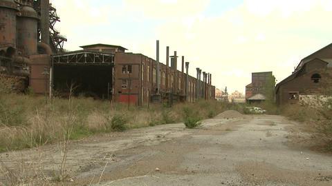 Bethlehem Steel Ruins 2 Footage