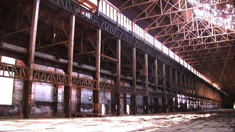 Bethlehem Steel Ruins of Factory 1 Footage