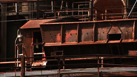 Bethlehem Steel Ruins - Coal Train Footage