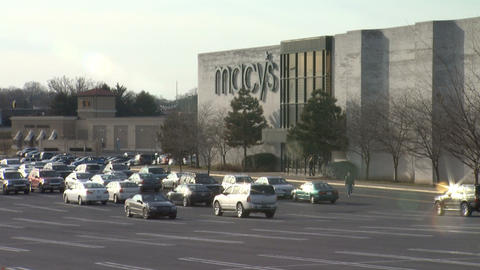 Macys Mall 1 stock footage