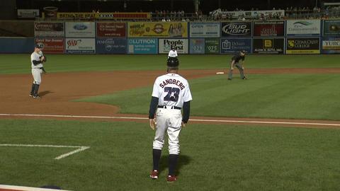 Ryne Sandberg Baseball Coach 2 Footage