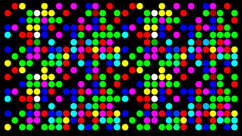 Colorfull Dots stock footage