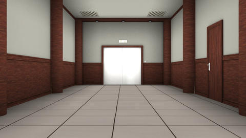エレベーター Animation