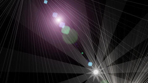 Glow art halo.Color fashion stars space universe ray.Abstract stage light Animation