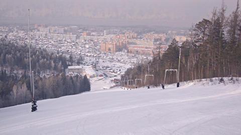 Divnogorsk Skiing 13 Footage