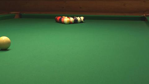 Billiard stock footage