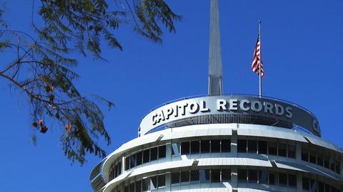 Hollywood Capitol Records Rooftop Footage