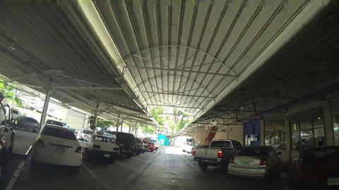 Car finds parking spot Footage