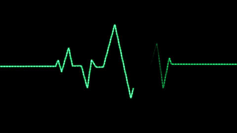 Heart Rate Monitor (25fps) Animation