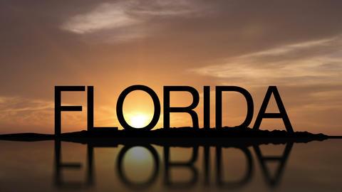 Florida Sunset Timelapse Footage