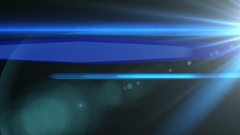 Blue Lens Flare Wipe Element (25fps) Animation