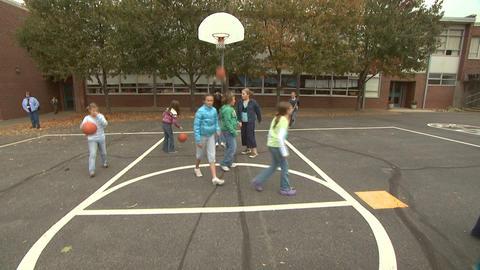 Kids On Playground 7 Footage