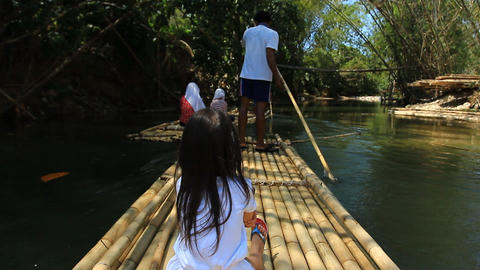 Bamboo Rafting In The Tropical Forest 2