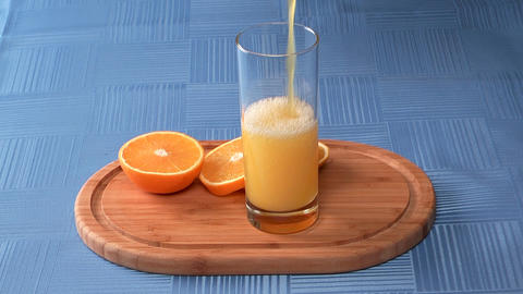 Orange Juice stock footage