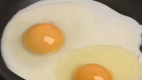 Fried egg Footage