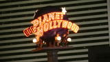 LAS VEGAS, CIRCA 2014: The Planet Hollywood Resort stock footage