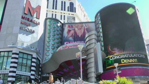 LAS VEGAS - CIRCA 2014: Britney Spears show poster Footage