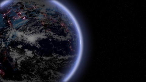 Earth intro Stock Video Footage