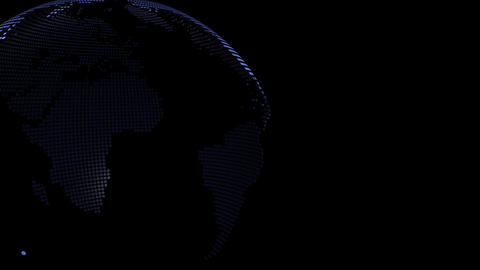 Globe loop rotation Animation