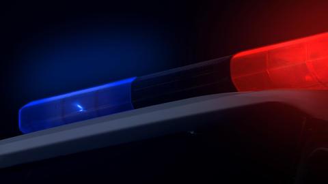 Police Light Stock Video Footage